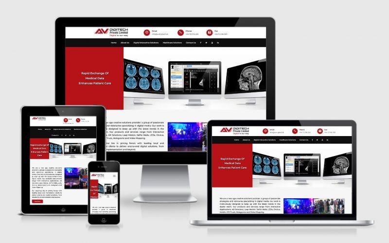 AV Digitech project by modernie