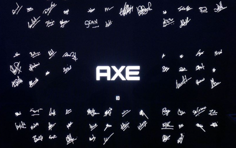 AXE Signature App project by modernie