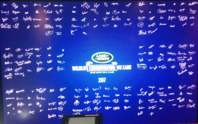 Land Rover Signature Wall project by modernie