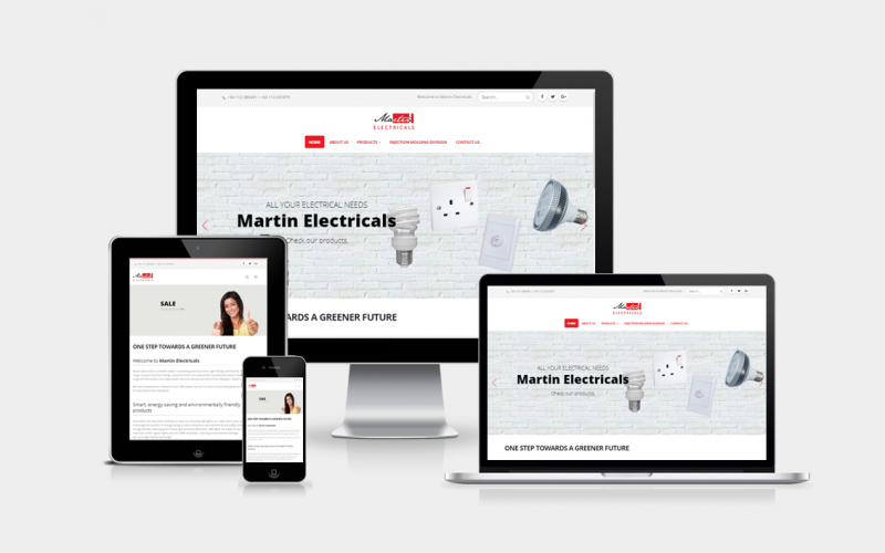 Martin Electricals project by modernie
